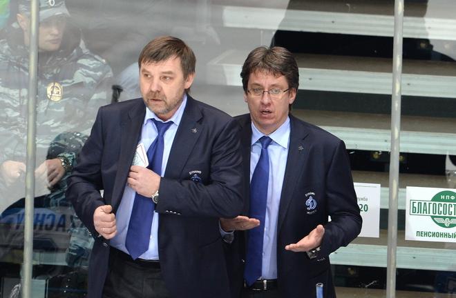 Олег Знарок и Харийс Витолиньш