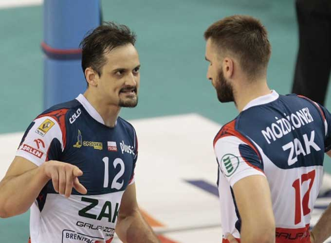 Фелипе Фонтелес стал MVP в матче СКРА-ЗАКСА