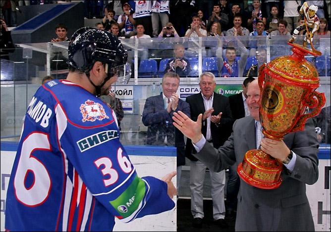 Валерий Шанцев: и чтобы другой кубок мне в конце сезона притаранили!..