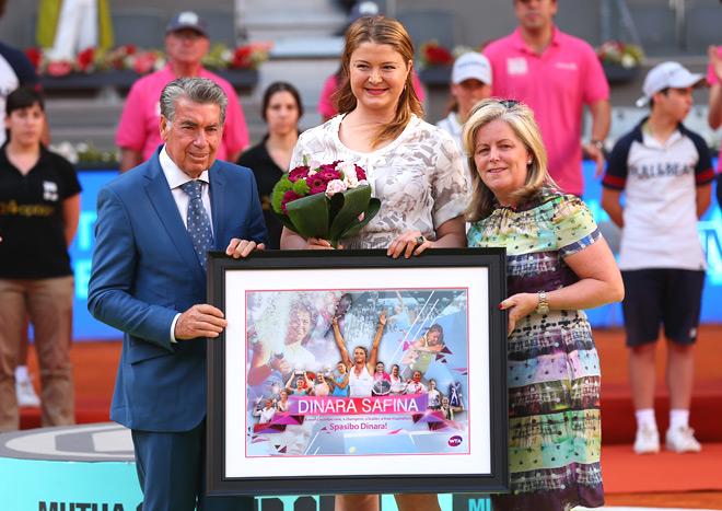 Сафина попрощалась с профессиональным теннисом