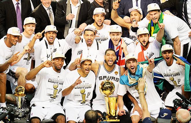 «Сан-Антонио» стал чемпионом НБА
