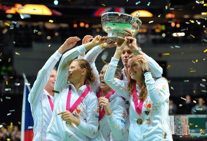 Чешские теннисистки выиграли Fed Cup