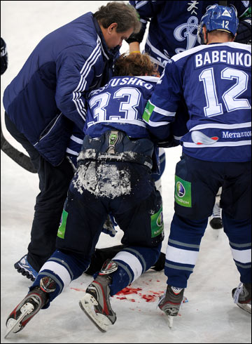 Однако при всей вине самого Пестушко, Свиязов дисквалифицирован на 10 матчей