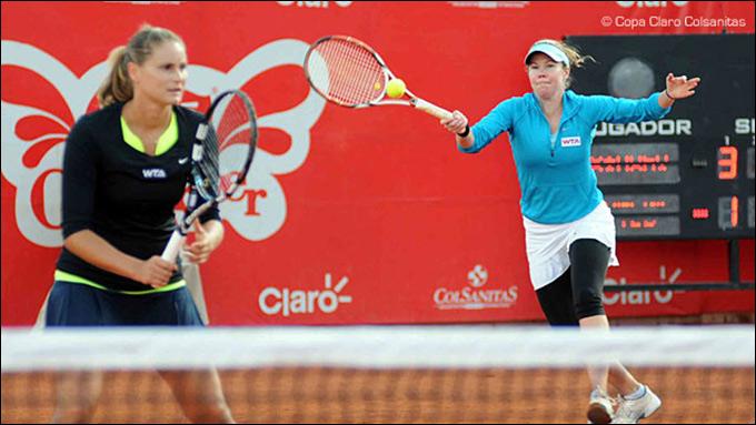 Панова и Бирнерова проиграли в финале Боготы