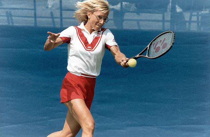 В финале Амелия-Айленд-1981 Мартина Навратилова была разгромлена Крис Эверт