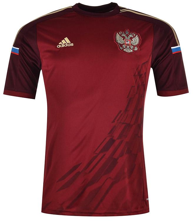 Форма сборной России 2014-15 с космической темой