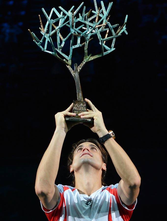 Давид Феррер победил в Париже