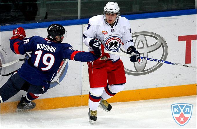 Кирилл Лебедев на Матче Всех Звезд МХЛ