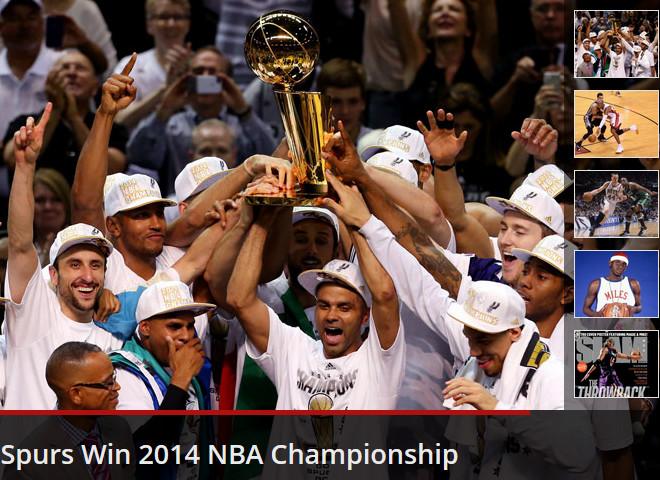 SLAM Online: ««Спёрс» выиграли титул сезона-2013/14»