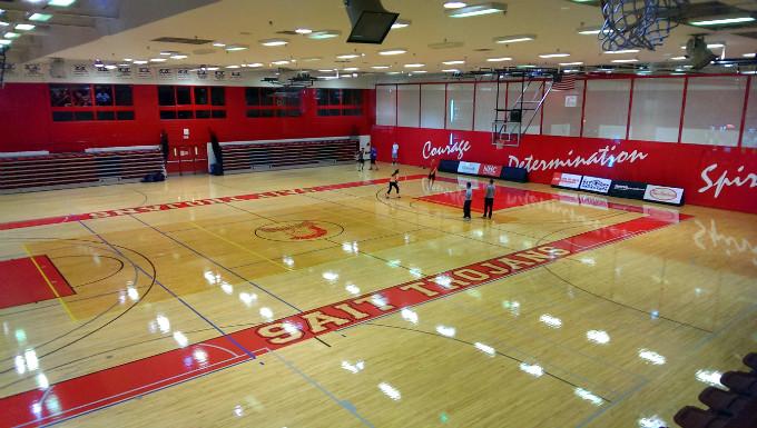 Спортивный зал Технологического университета в Калгари