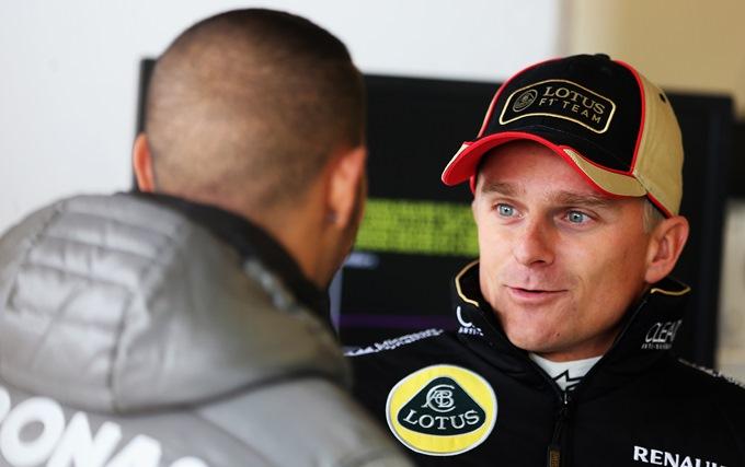 Ковалайнен вернулся в Формулу-1, но не триумфально