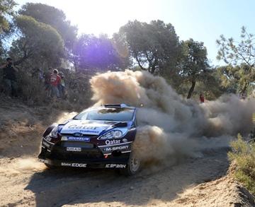 Евгений Новиков на Ралли Греции WRC