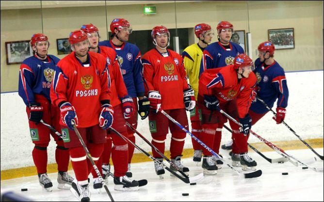 19 апреля 2011 года. Новогорск. Тренировка сборной России.