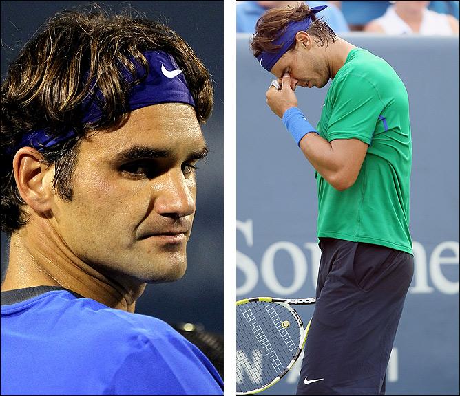 Федерер и Надаль пока не блещут