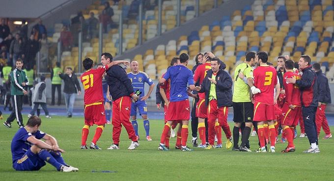 Радость черногорцев, печаль украинцев