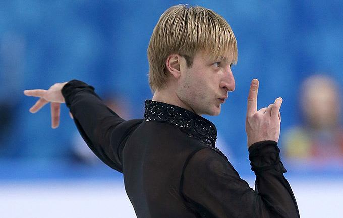 Евгений Плющенко считает, что негодяям не место на телевидении