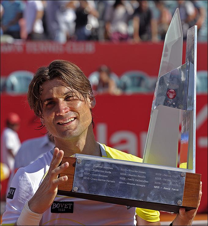 Феррер завоевал свой 20-й титул в карьере