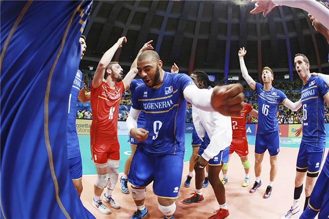 Сборная Франции впервые победила в Мировой лиге