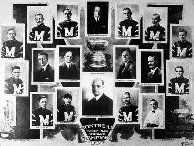 История Кубка Стэнли. Часть 34. 1925-1926. «Монреаль Марунз».