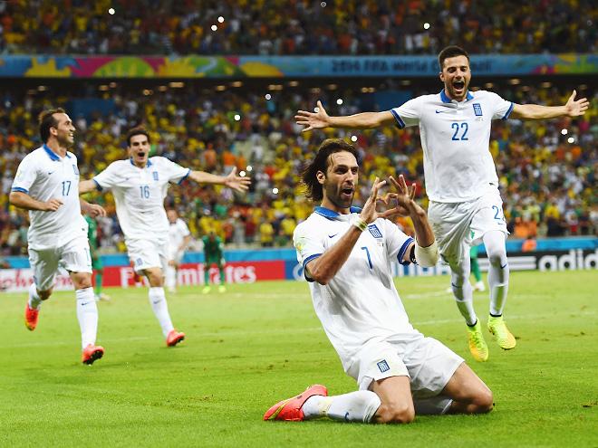 Греция оставила позади команды из Африки и Азии. Ничего не напоминает?
