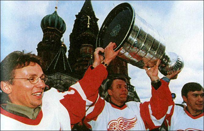 Кубок Стэнли на Красной площади