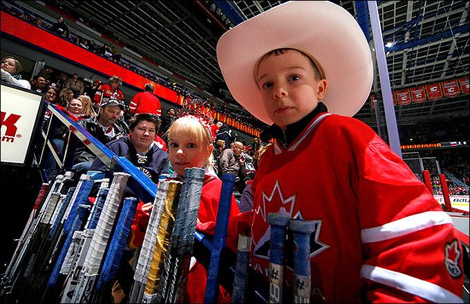 Калгари ждет сборную Канады