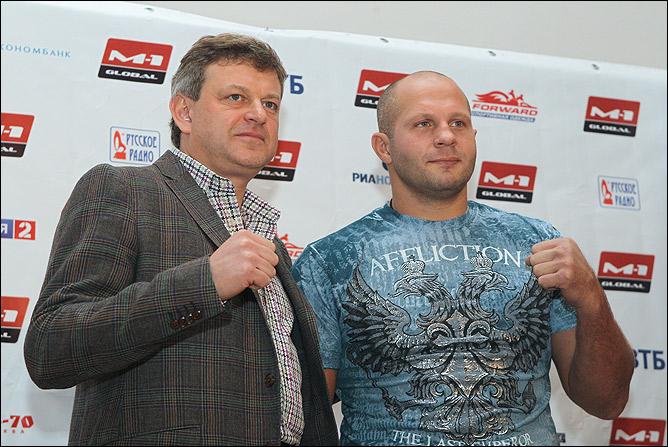 Фёдор Емельяненко и Вадим Финкельштейн