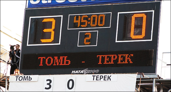 """Первая крупная победа """"Томи"""" в чемпионате"""