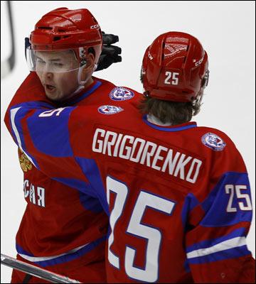 Михаил Григоренко и Эдуард Гиматов