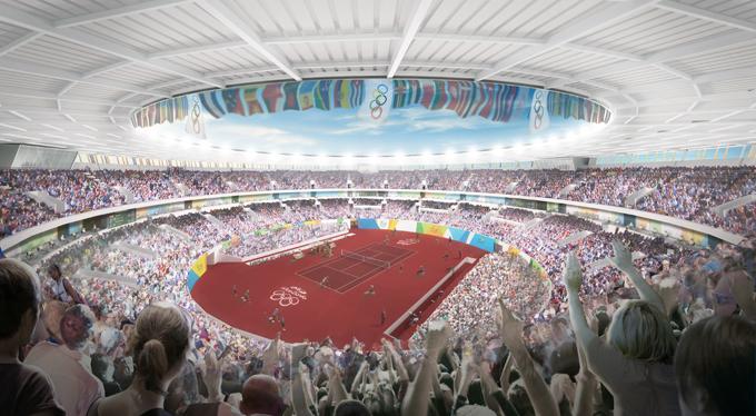 Макет стадиона в Рио-де-Жанейро