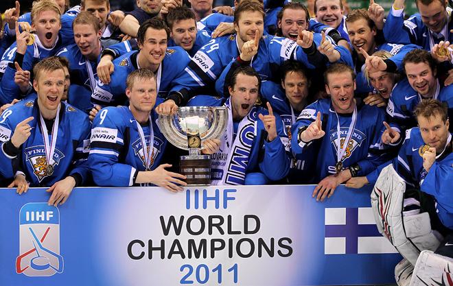 Сборная Финляндии — чемпион мира 2011 года