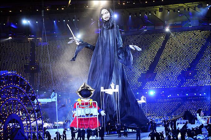 Церемония открытия Олимпиады