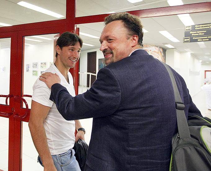 Виктор Гусев комментировал не только поражения, но и победы