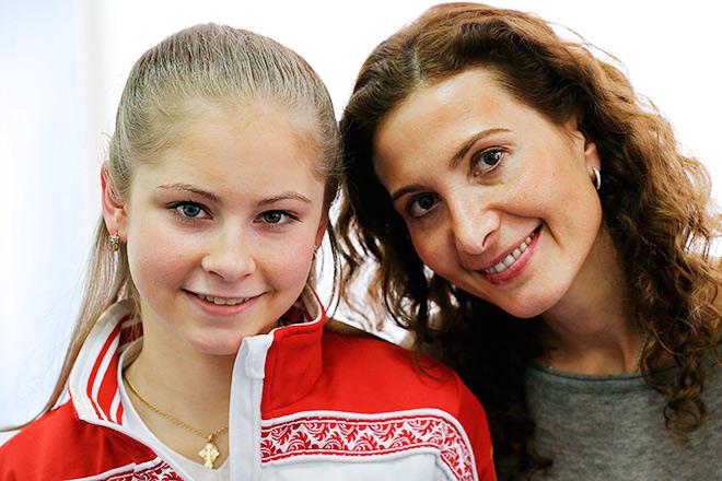 Липницкая и Тутберидзе – Дальше «девочка в красном» идёт с другим тренером