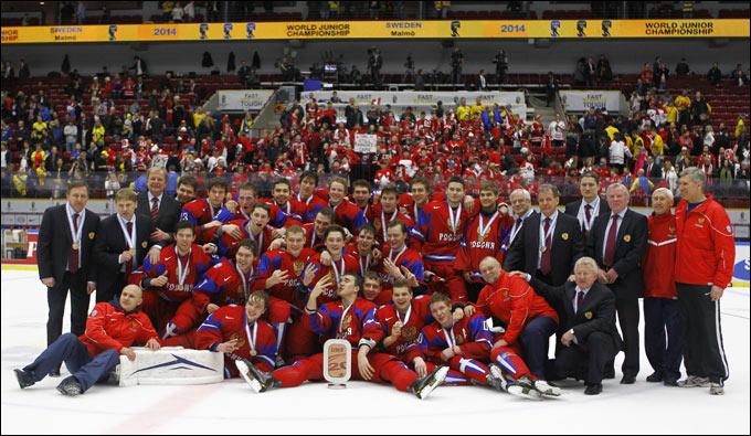 Сборная России — бронзовый призёр МЧМ-2014