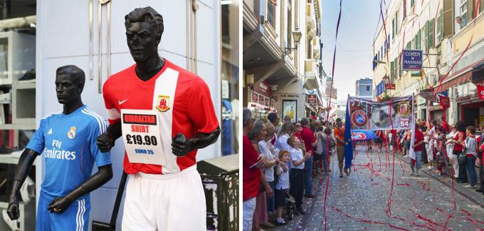 Признание сборной Гибралтара УЕФА стало национальным праздником