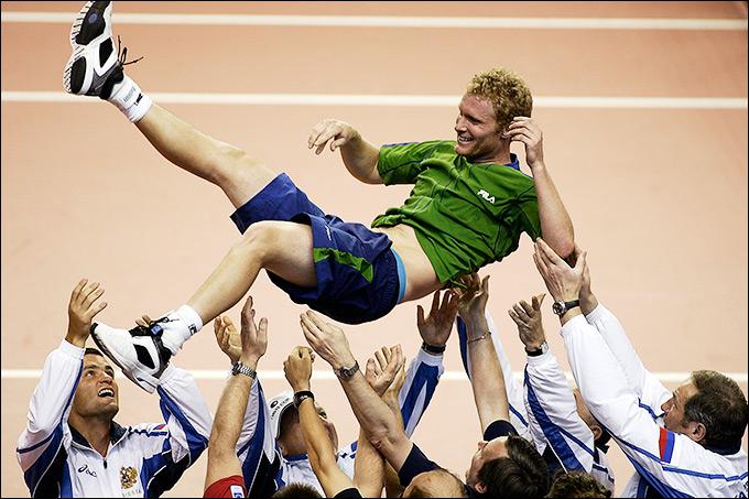 Дмитрий принёс очередную важную победу сборной России в Кубке Дэвиса