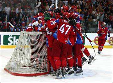 8 мая 2009 года. Берн. 1/2 финала. Россия — США — 3:2