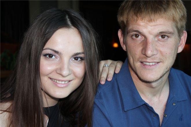 Игорь Пикущак с женой Маргаритой