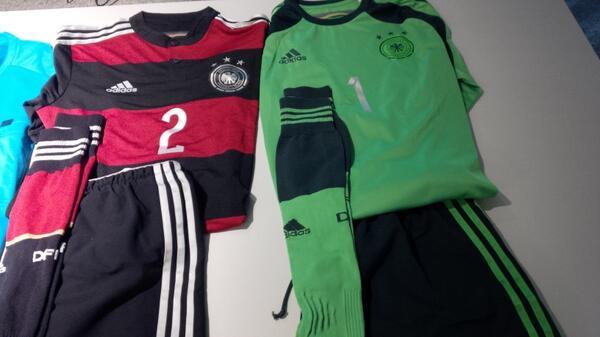 Игровая форма Германии на полуфинал ЧМ-2014