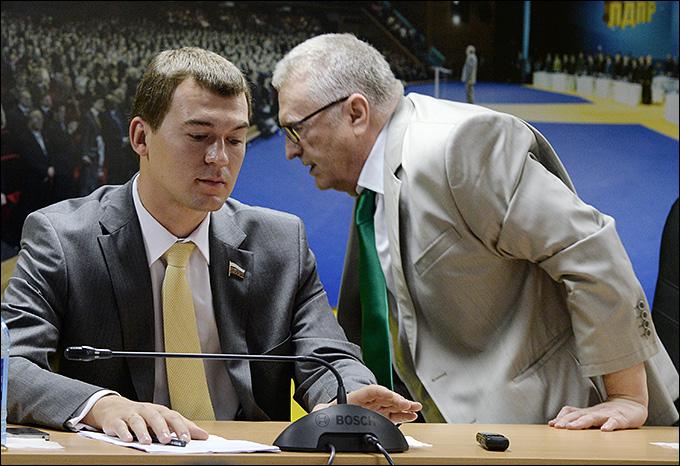 Михаил Дегтярёв и Владимир Жириновский