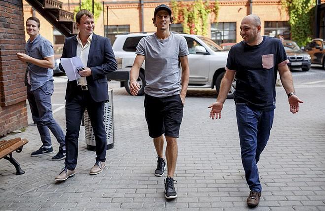 Роман Ерёменко в гостях у «Чемпионата»