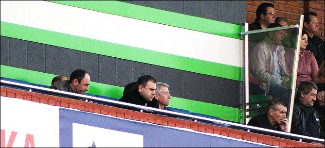 "Валерий Непомнящий на стадионе ""Труд"""