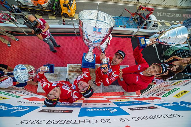 В прошлом году заезды в Казани прошли под диктовку красно-белых: 6 призовых мест из 6