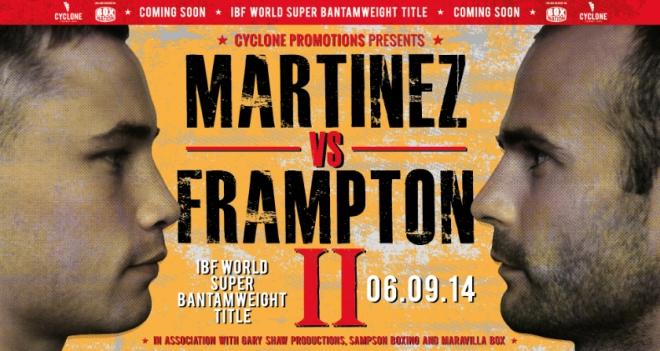 Постер к бою Мартинес — Фрэмптон