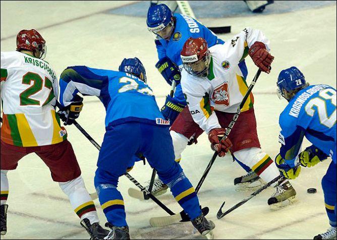 20 апреля 2011 года. Киев. Чемпионат мира. Дивизион I. Казахстан – Литва – 7:0