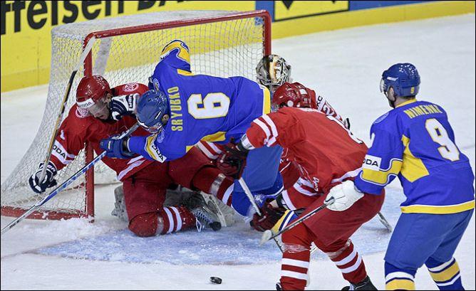 20 апреля 2011 года. Киев. Чемпионат мира. Дивизион I. Украина – Польша – 4:1