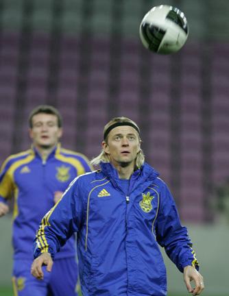 Тимощук — один из последних ветеранов сборной