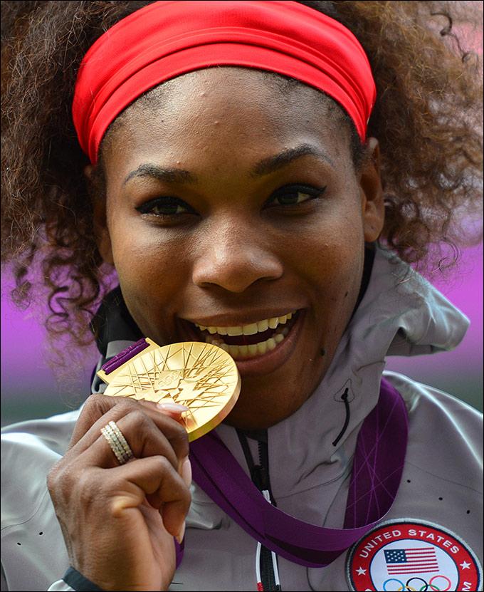 В Лондоне Уильямс добыла золото в одиночном разряде