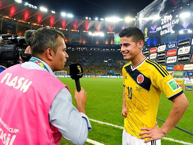 Конечно, мы знали, что Хамес Родригес — крутой парень